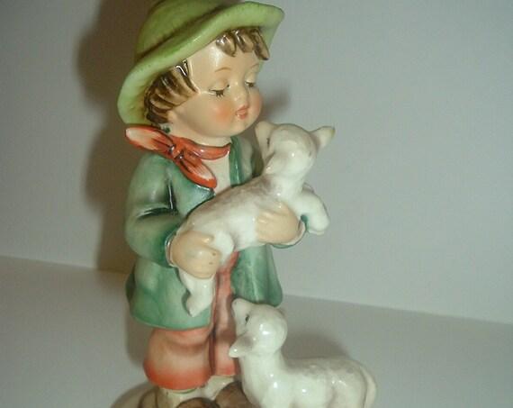 Hummel HUM 64 Shepherd's Boy Figurine Missing Bee