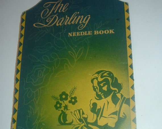 Sewing Needlebook The Darling Vintage