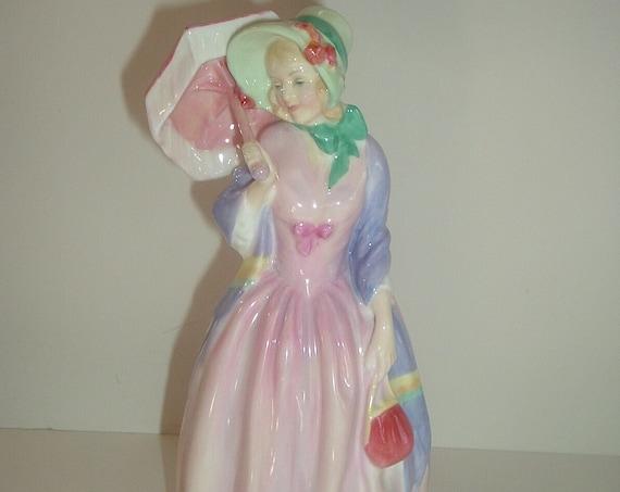 Royal Doulton HN 1402 Miss Demure Lady Figurine