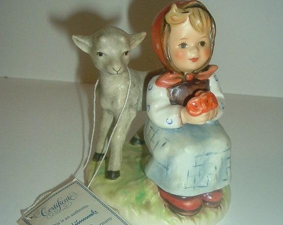 Hummel HUM 182 Good Friends Girl Figurine