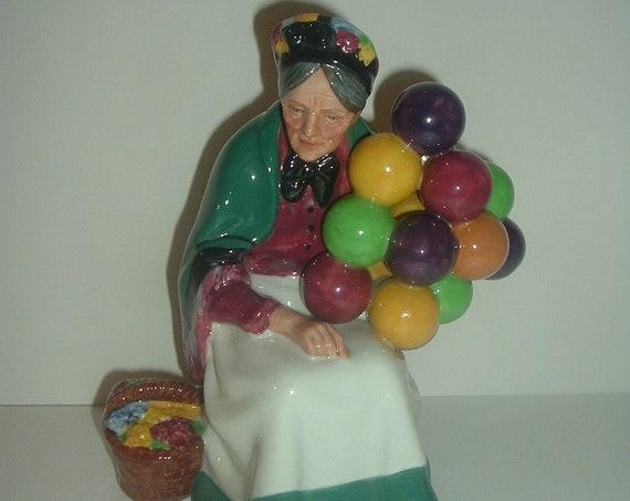 Royal Doulton HN 1315 The Old Balloon Seller Lady Figurine
