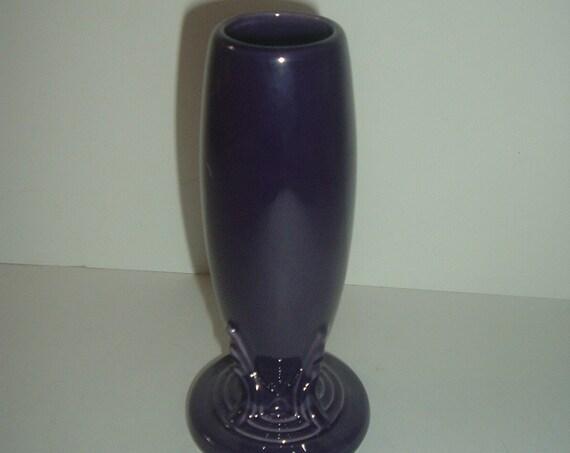 Homer Laughlin Fiesta Plum Bud Vase