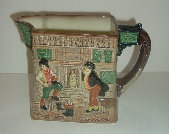 Royal Doulton Pickwick Papers by Charles Dickens Pitcher