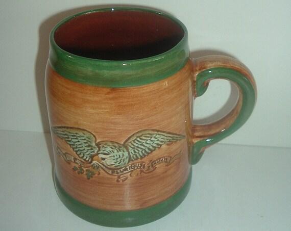 Pennsbury Pottery Eagle Patriotic Mug