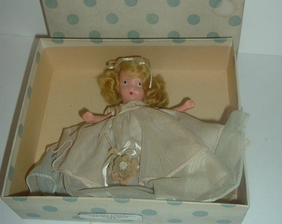 Nancy Ann Curly Locks 154 Doll Vintage