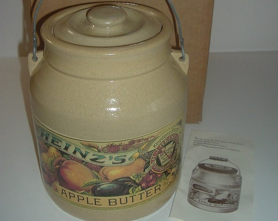 Heinz Apple Butter Crock