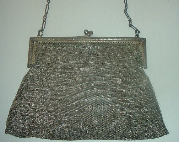 Mesh Bag Handbag Antique