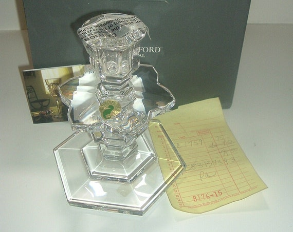 Waterford Crystal Paradisio Candle Stick