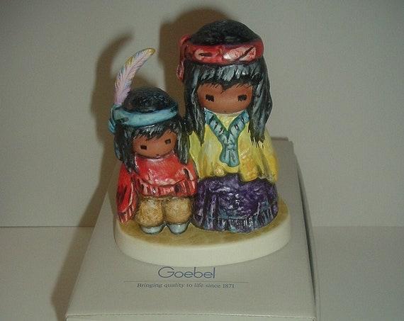 Goebel  DeGrazia Wondering Figurine in box