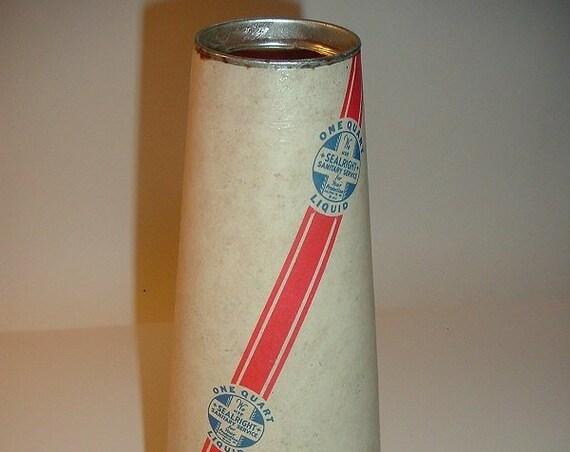 Sealright Cone Shaped Milk Carton Vintage