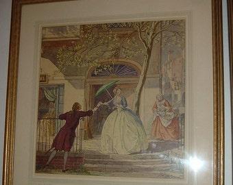 1937 T M Cleland Spring Vintage Framed Print