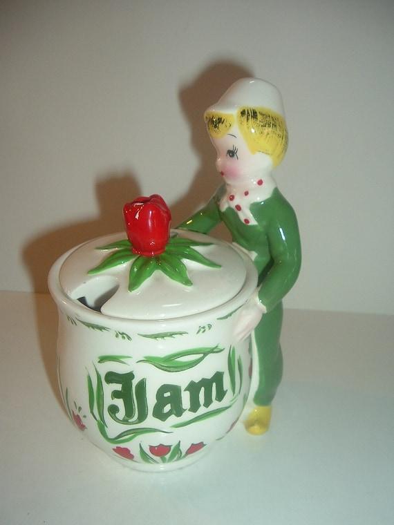 Tulip Thyme Jam Jar