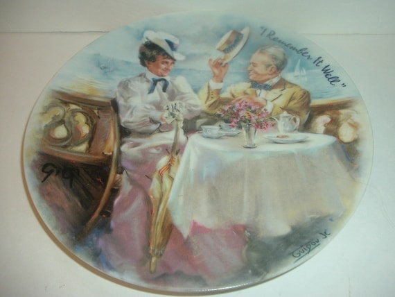 Limoges Gigi Plate I Remember It Well 1985