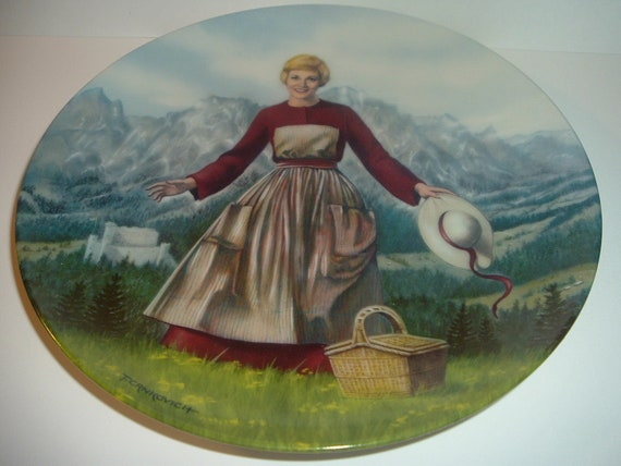 Sound of Music First Issue Plate 1986