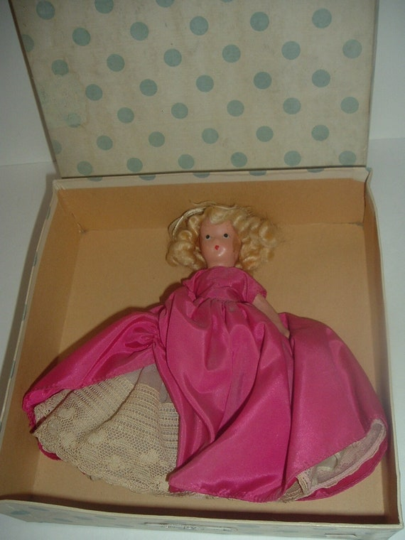 Nancy Ann Antoinette 257 Lady in Waiting 255 Powder Crinoline Series Doll Vintage