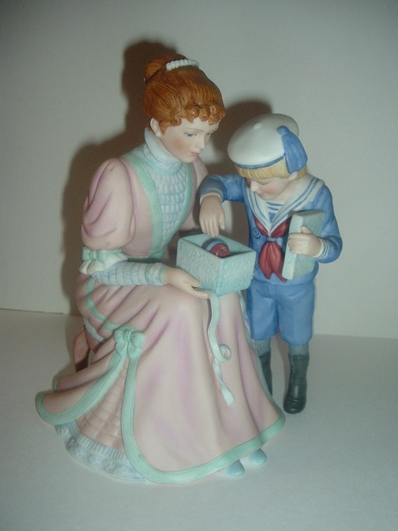 Lenox The Present Lady or Mother and Child Figurine 1989