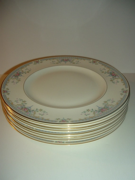 8 Royal Doulton Juliet Dinner Plates Romance Collection