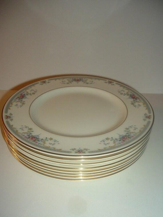 """8 Royal Doulton Juliet Salad Plates Romance Collection 8"""""""
