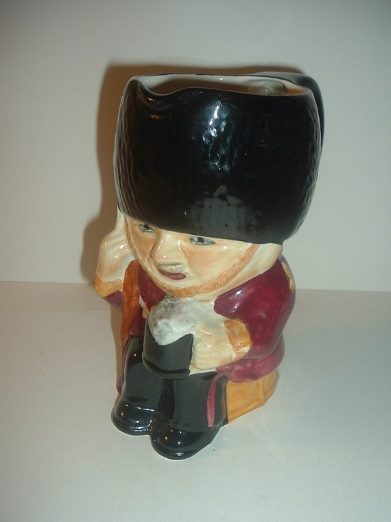 Staffordshire Guardian Toby Jug or Pitcher