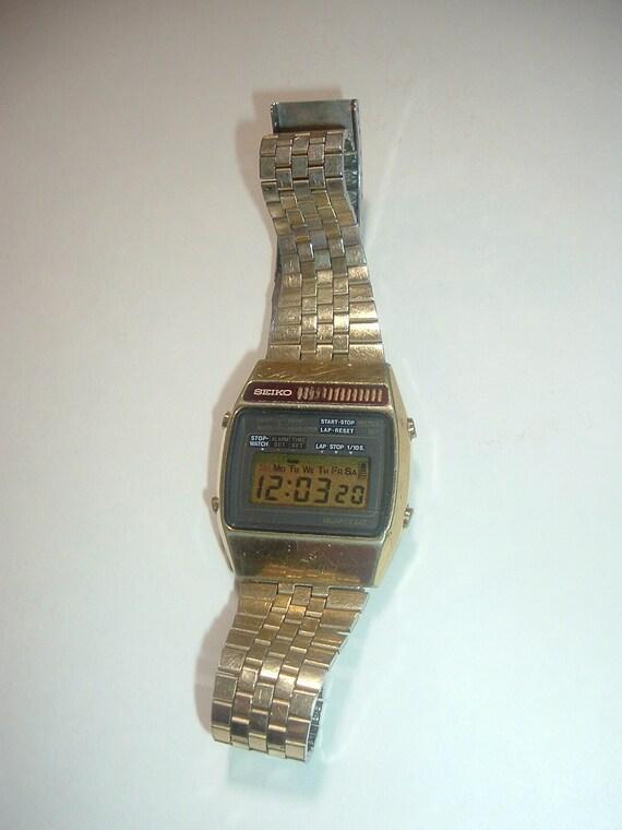 Men's Vintage Seiko Quartz Watch 1970's