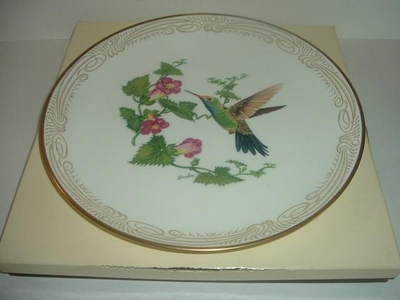 Boehm Broad-billed Hummingbird Plate