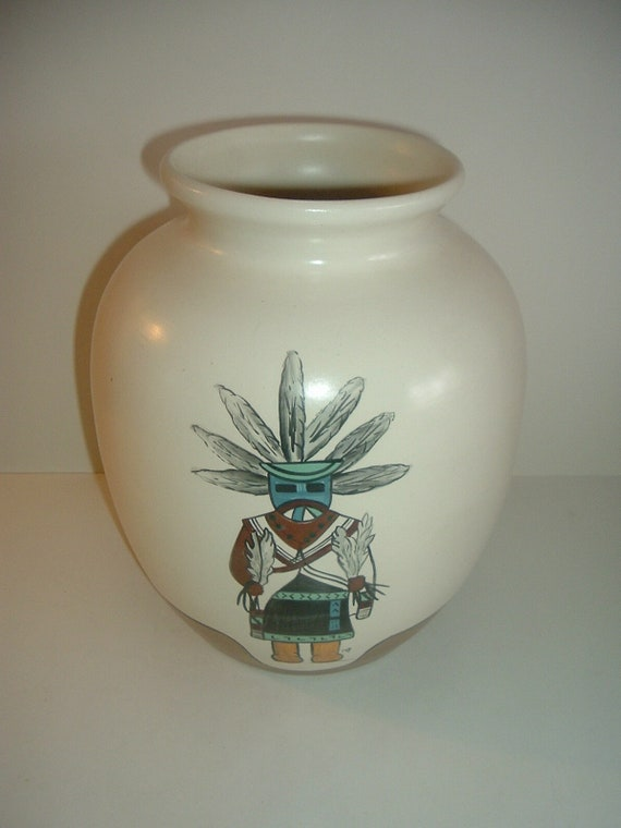 M Peters 1980 Pottery Vase Planter Big Model 170