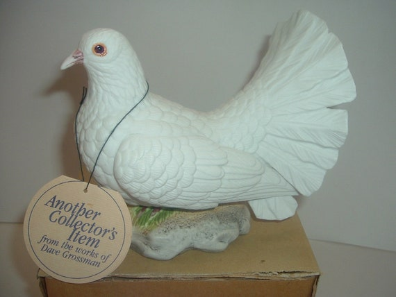 Dave Grossman Dove Figurine 1979