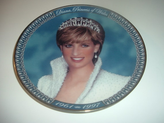 Princess Diana Tribute Plate Franklin Mint