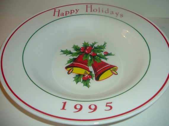 Corning 1995 Holiday Prototype Bowl