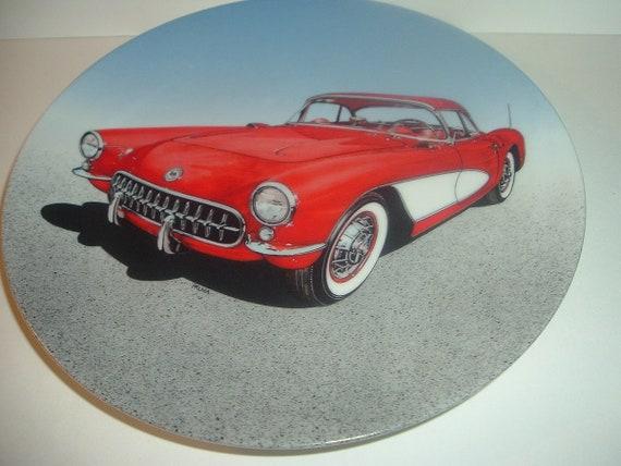 Corvette Plate 1957 Dream Machines Philip Palma Delphi 1989