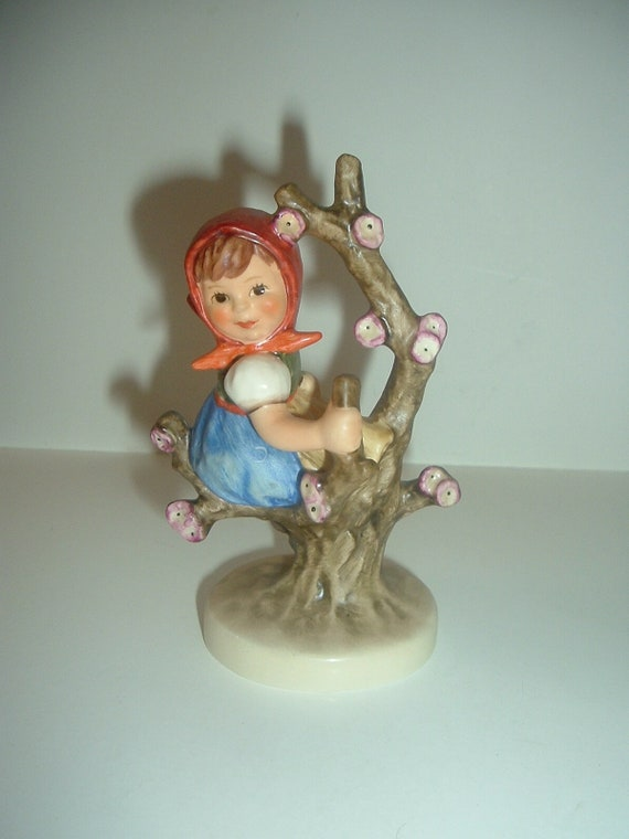 Hummel HUM 141 Apple Tree or Girl in Tree Figurine