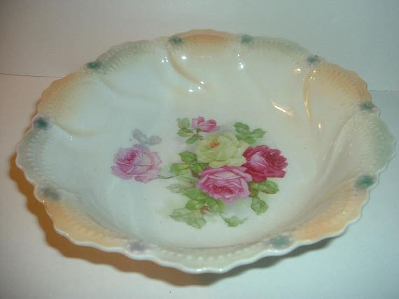 Vintage Thuringia Germany Porcelain Bowl