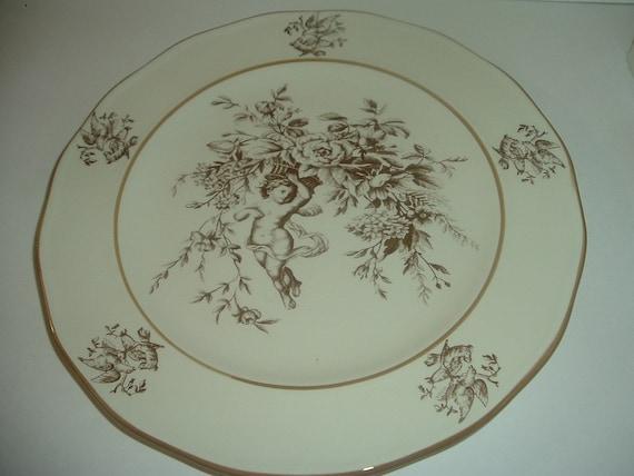Claire Wilson's Heaven Cherub Plate