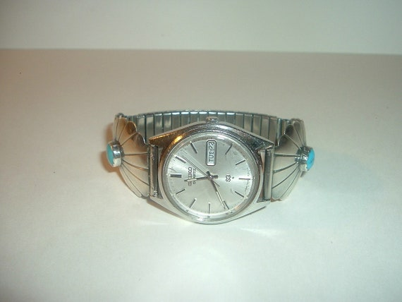 Seiko Watch Men's Vintage Quartz