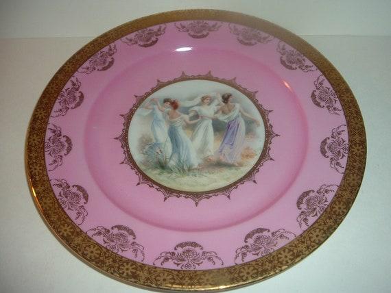 JKW W Germany Lady Portrait Plate