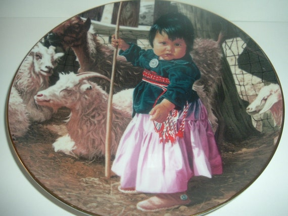 Newest Little Sheepherder Ray Swanson Proud Nation Plate 1988