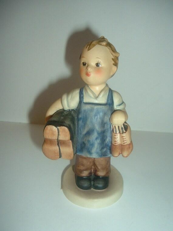 Hummel HUM 143 Boots Boy Figurine