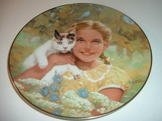 1984 Innocence by Jack Woodson by Royal Windsor Collector Plate