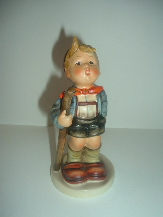 Hummel HUM 16 Little Hiker Boy Figurine TMK 5
