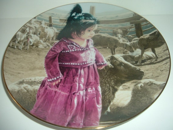 Out With Mama's Flock Ray Swanson Proud Nation Plate 1988