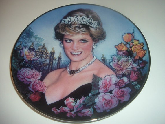 Princess Diana Always Our Princess Plate Franklin Mint