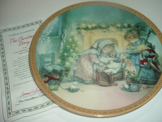 The Christmas Story Lisi Martin Plate w COA