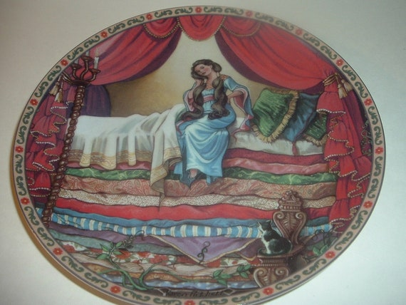 1989 Knowles The Princess and the Pea Once Upon A Time Plate