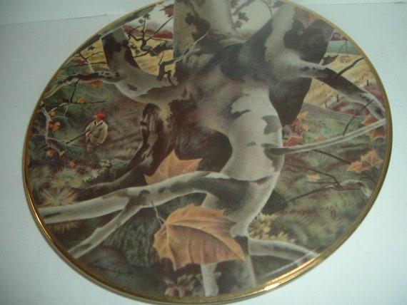 Andrew Wyeth The Hunter Ridgewood China Plate 1974