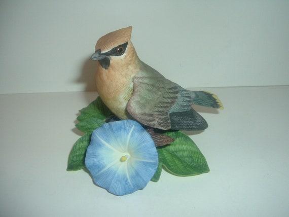 Lenox Cedar Waxwing Bird Figurine