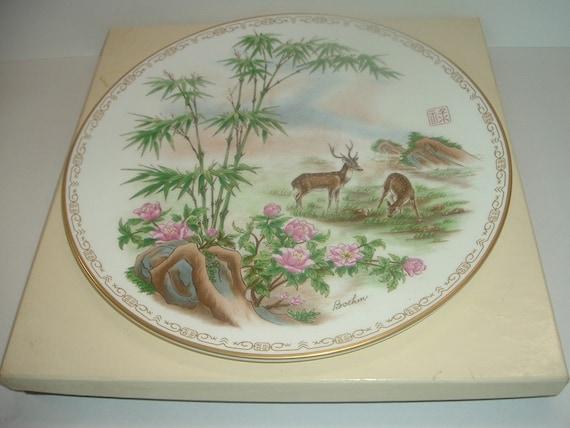 Boehm Life's Best Wishes Prosperity Plate