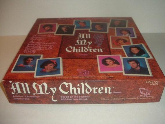 All My Children Game ABC 1985