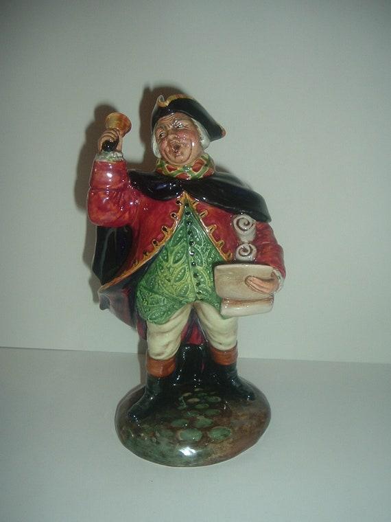 Royal Doulton HN 2119 Town Crier Figurine