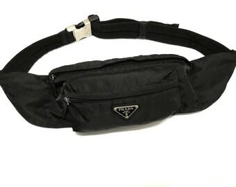 f4bcd6feefde Prada Fannypack Nylon Belt Waist Bag