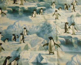 """Penquin Fabric,  1.5 yards x 44"""""""